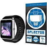 DFlectorshield Premium Scratch Resistant Screen Protector for the OUMAX Bluetooth Smart Watch S6