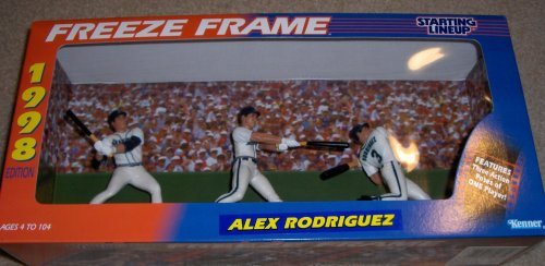 1998 Starting Lineup MLB Baseball Freeze Frame - Alex Rodriguez