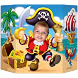 Pirate Photo Prop Party Accessory (1 count) (1/Pkg)