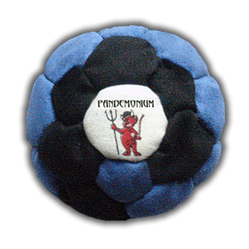 Vortex Footbag 32 Panels Hacky Sack Intermediate Bag Sand Filled Weighted At 2.1 Onces