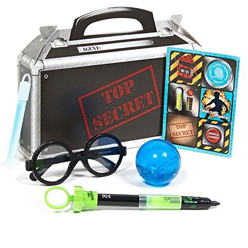 Secret Agent Filled Party Favor Box - 1