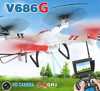 WLtoys V686G FPVクアッドコプター 200万画素HDカメラ搭載 モード2