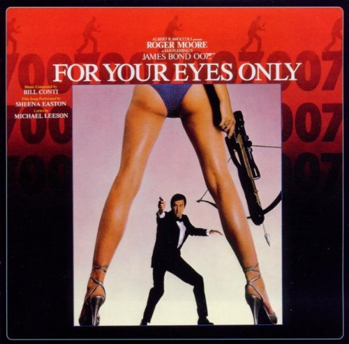 Original album cover of For Your Eyes Only by James Bond - OST