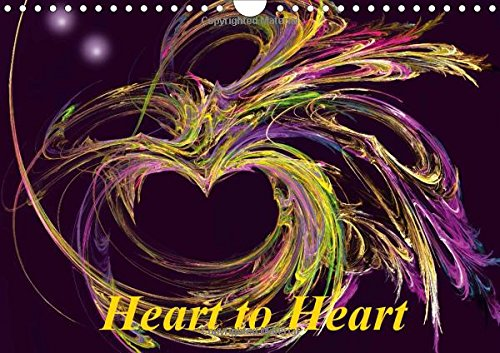 Heart to Heart / UK-Version (Wall Calendar 2016 DIN A4 Landscape): Hearts are a symbol of love and affection. A calendar full of poetry and romance. (Monthly calendar, 14 pages) (Calvendo People)