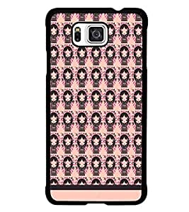 PrintDhaba Pattern D-1540 Back Case Cover for SAMSUNG GALAXY ALPHA (Multi-Coloured)