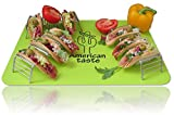 3 Taco Holder and Silicone Mat by AT - Best Stainless Steel Taco Rack Tray - Grill, Oven and Dishwasher Safe Taco Shell Stand - Silicone Nonstick Baking Mat - Exclusive Taco Recipes e-Book