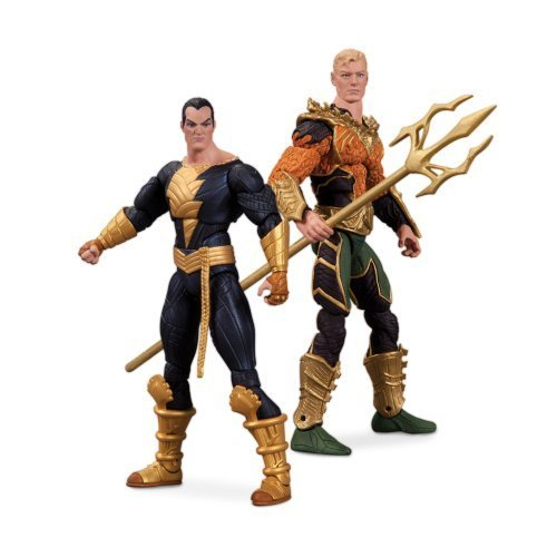 DC Collectibles Injustice Aquaman vs. Black Adam Action Figure, 2-Pack by DC Collectibles