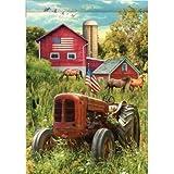 Custom Decor Rustic Tractor