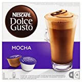 Nescafe Dolce Gusto Mocha 16 Capsules, 8 servings (Pack of 3, Total 48 Capsules, 24 Servings)