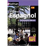 Espagnol Immersion Orale - Pack 4 CD 100% Audiopar Gonzalez Juan