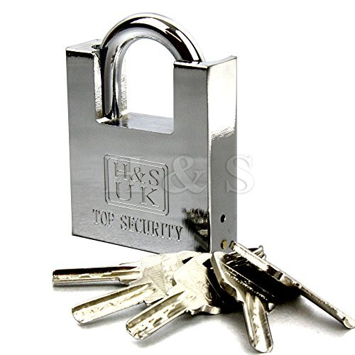 hsr-5-keys-60mm-heavy-duty-warehouse-container-garage-shutter-padlock-gate-chain-lock