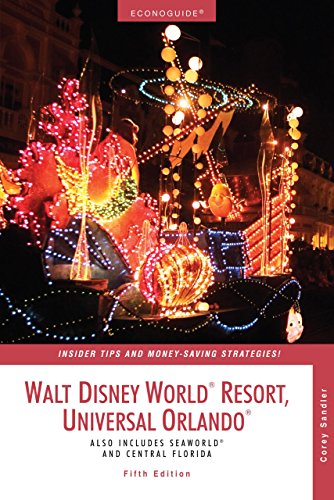 Econoguide Walt Disney World Resort Universal Orlando, 5th: Also Includes SeaWorld and Central Florida (Econoguide Series) (Orlando Disney World Tickets compare prices)
