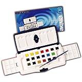 Daler Rowney Watercolour Aquafine 20 Half Pan Slider Set