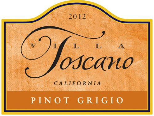 2014 Villa Toscano Winery California Pinot Grigio 750 Ml