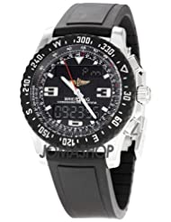 Breitling Professional Airwolf Mens Analog-Digital Watch A7836423-B911BKRD