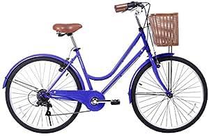 Amazon.com : Gama Bikes City Basic 26-Inch Step Thru 6 Speed Shimano