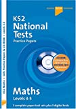 Jason White Letts Key Stage 2 Practice Test Papers - Maths National Tests (SATs), inc. CD-Rom: Levels 3-5