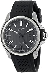 Citizen Men's AW1150-07E Stainless Steel Eco-Drive Watch