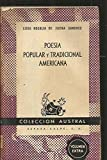 img - for Poes a popular y tradicional americana book / textbook / text book