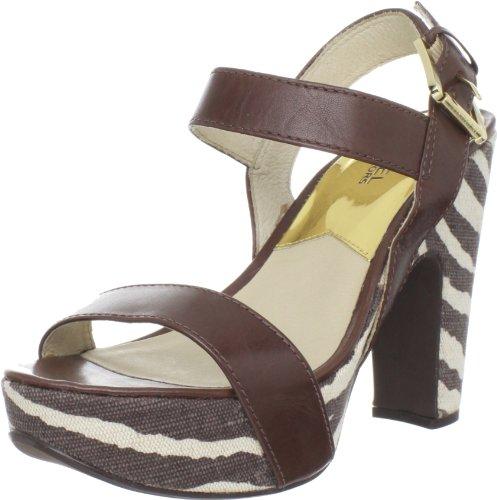 Michael Michael Kors Women'S Ivana Platform Sandal,Mocha,8.5 M Us