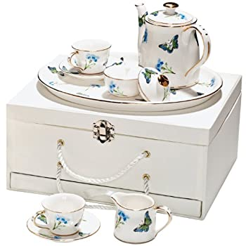 Blue Butterfly Children's Set