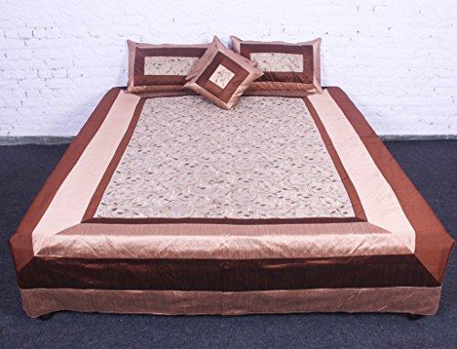 jth 5pcs Royal Jaipuri cotone seta Copriletto in cotone indiano phaisely Amazing Set di biancheria da letto