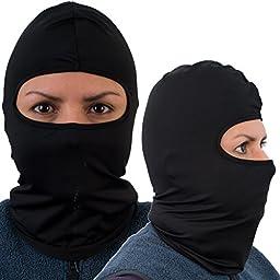 Balaclava Face Mask, Premium Black Motorcycle Balaclava Ski Mask