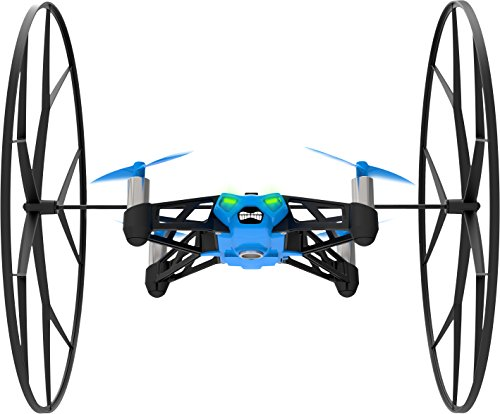 Parrot - MiniDrone Rolling Spider, color azul (PF723001AA)
