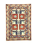 Eden Carpets Alfombra Shirvan Beige/Multicolor 153 x 107 cm