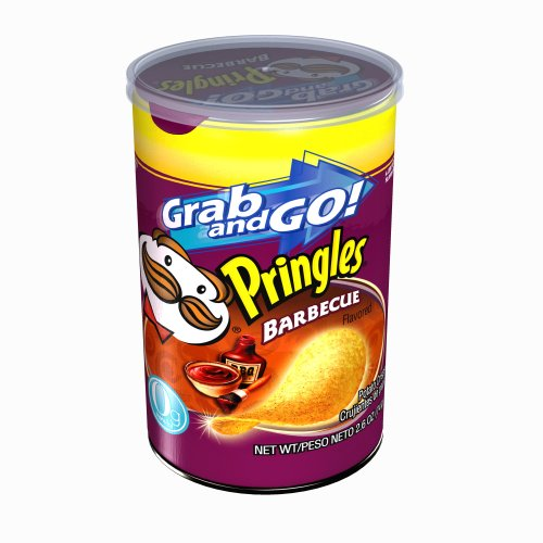 Pringles Barbecue Grab AND Go! - 2.61-Ounce Packages (Pack of 12)
