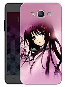 """Humor Gang Emo Girl Dreamy Printed Designer Mobile Back Cover For """"Samsung Galaxy A7"""" (3D, Matte, Premium Quality Snap On Case)"""