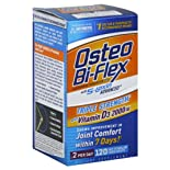 Osteo Bi-Flex Glucosamine Chondroitin MSM, Triple Strength, With Vitamin D3, Coated Caplets 120 caplets