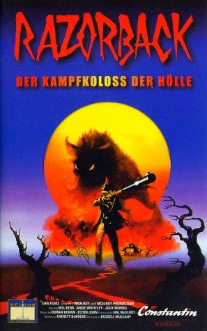 Razorback [VHS]
