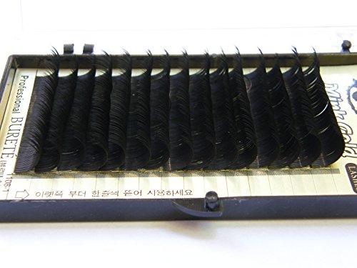 Mink or cils - cils de qualité professionnelle, des cils clin styliste alternatif, D Curl 0.2mm avec une longueur de 12mm, les cils de vison de haute qualité pour l'extension des cils!