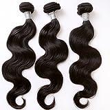 "Neitsi Brazilian Virgin Remy Human Hair Body Wave Extension 3pcs 26""28""30"" 100% Brazilian hair bundles weaves"