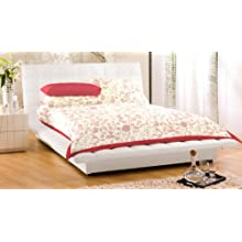 """Bed Cover With Pillow Cover Floral 100% Cotton 90X108"""" Double Bed Spread Double"""