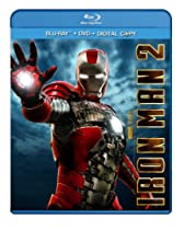 Iron Man 2 (Three-Disc Blu-ray/DVD Combo + Digital Copy)