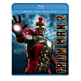 Iron Man 2 (Three-Disc Blu-ray/DVD Combo) ~ Robert Downey Jr.