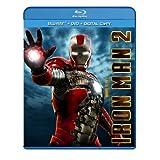 Iron Man 2 (Three-Disc Blu-ray/DVD Combo) ~ Robert Downey Jr.