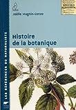 echange, troc Joëlle Magnin-Gonze - Histoire de la botanique