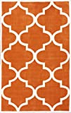 nuLOOM ACR129F Cine Collection Contemporary Fez Hand Made Trellis Area Rug, 5-Feet by 8-Feet, Copper