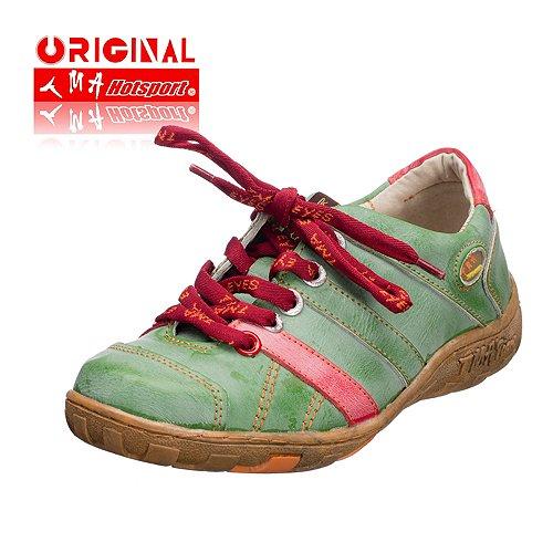 TMA EYES 1369 Schnürer Gr.36-42 mit bequemen perforiertem Fußbett , ANTIKOPTIK , Leder 39.35 super leichter Schuh der neuen Saison. Schuh fällt etwas kleiner aus. ATMUNGSAKTIV in Grün Gr. 38