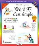 echange, troc MaranGraphics - Word 97, c'est simple