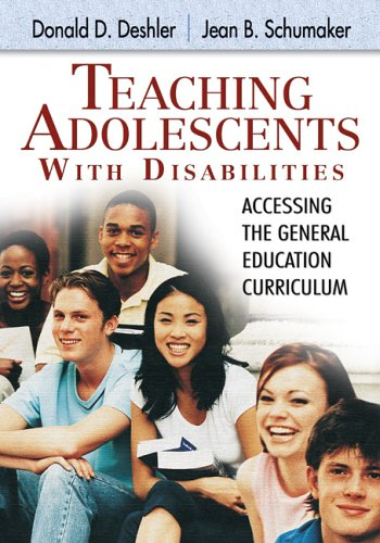Teaching Adolescents With Disabilities:: Accessing the...
