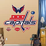 NHL Logo Vinyl Wall Graphic Set - Washington Capitals Logo