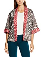 Springfield Kimono (Negro / Rojo)