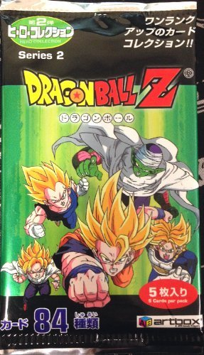 Dragonball Z Series 2 Trading Cards Japanese 5 Card Booster Pack - 1