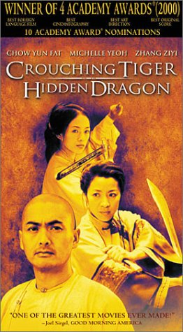 Crouching Tiger, Hidden Dragon [VHS]
