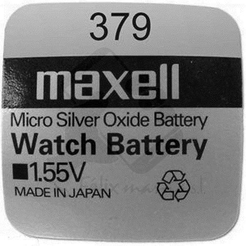 10 X PILE Maxell Batterie Originale SR521SW 1,55 V Boutons 379 Pile Oxyde D'argent AG Maxell 0/-Livraison 48 Felixmania® 72H