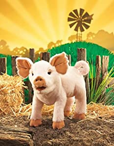 "Piglet Puppet 15"" by Folkmanis Puppets from Folkmanis Puppets"